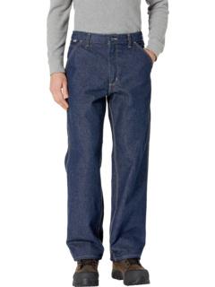 Огнестойкие фирменные джинсовые комбинезоны Big & Tall Carhartt