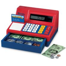 Кассовый аппарат калькулятора Pretend & Play от учебных ресурсов Learning Resources