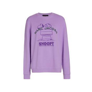 Толстовка Peanuts® x Marc Jacobs The Sweatshirt THE MARC JACOBS