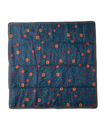 Полночный мак 5x5 наружное одеяло Little Unicorn