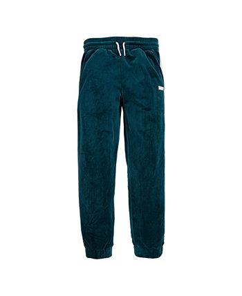 Велюровые брюки-джоггеры для маленьких девочек Levi's®