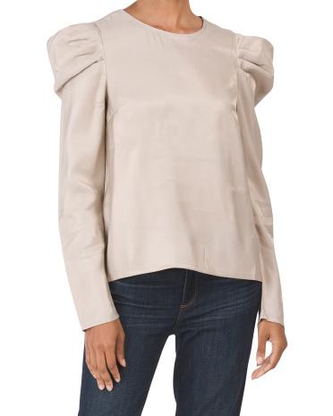 Блуза Juniors с объемными рукавами OnTwelfth