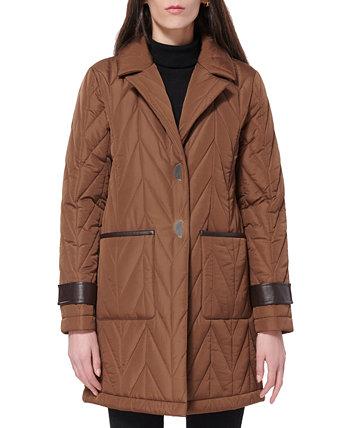 Стеганое пальто Via Spiga