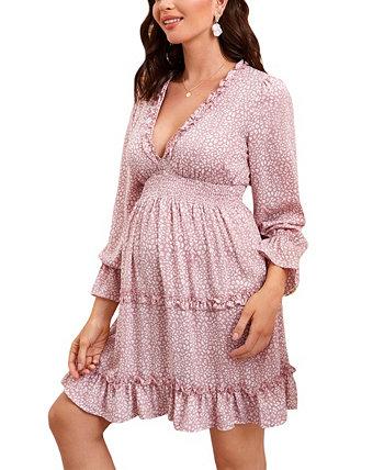 Женское платье Venice с рюшами Savi Mom