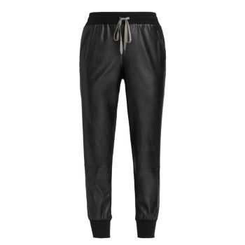 Logan Faux Leather Joggers Bailey 44