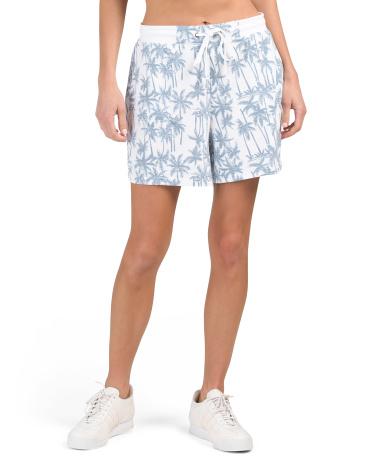 Palm Pant Shorts JANE AND DELANCY
