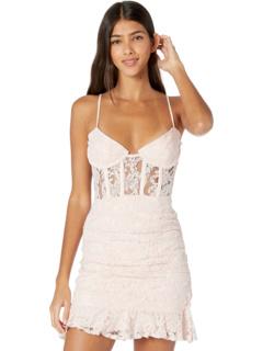 Мини-платье Danni с корсетом Bardot