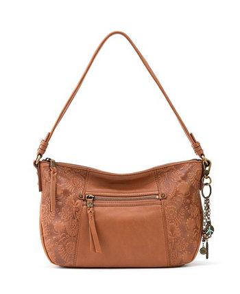 Маленькая женская сумка-хобо из кожи Sequoia The Sak