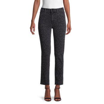 Рваные джинсы с принтом Joe's Jeans
