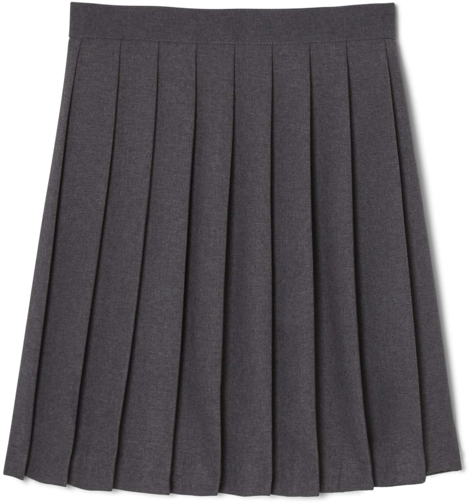 Plus Size Pleated Skirt (Big Kids) French Toast