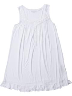 Модальная спандексская вязаная короткая ночная рубашка без рукавов Eileen West