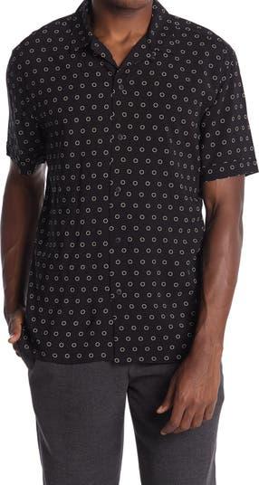 Рубашка с короткими рукавами и маленьким круглым принтом Toscano