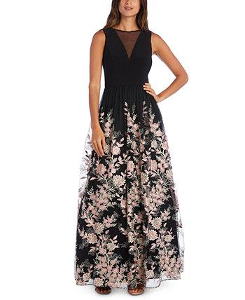 Юниорское платье с вышивкой в сеточку Morgan & Company