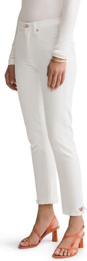 Прямые джинсы Toni с потертостями до щиколотки AGOLDE
