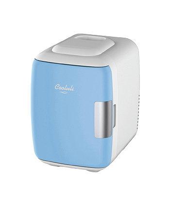 Компактный термоэлектрический охладитель и теплый мини-холодильник Classic-4L Cooluli
