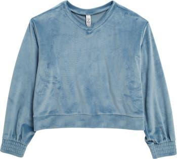 Плюшевый пуловер из мягкого велюра Z by Zella Girl