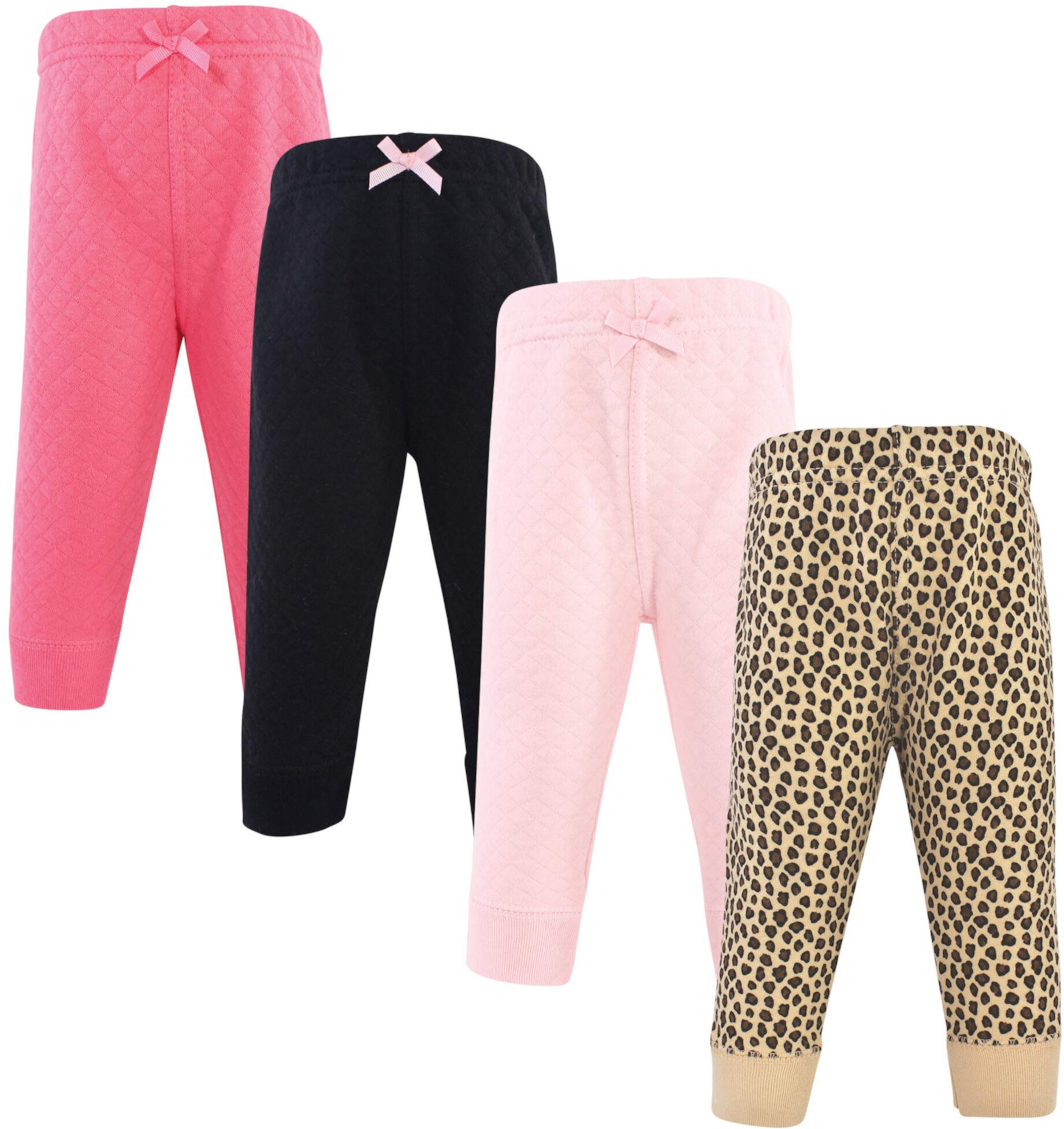 Quilted Jogger Pants 4-Pack (Toddler) Hudson Baby