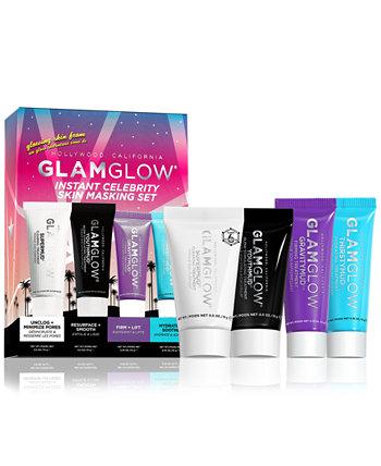 4-шт. Мгновенный набор для маскировки кожи знаменитостей GLAMGLOW