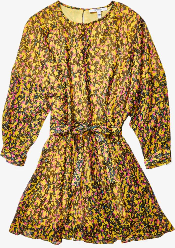 Платье-юбка-годе с длинными рукавами DEREK LAM