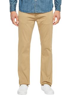 Зак Классические прямые джинсы в британском хаки Twill Mavi Jeans