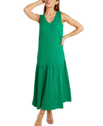 Макси-платье Crinkle Quiz
