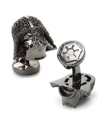 Запонки из хрустального шлема Дарта Вейдера Star Wars