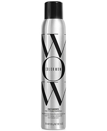 Cult Favorite Firm + гибкий лак для волос, 10 унций, от PUREBEAUTY Salon & Spa COLOR WOW