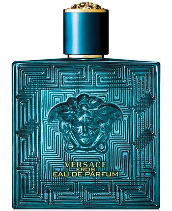 Спрей для мужчин Eros Eau de Parfum, 3,4 унции. Versace