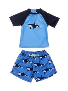 Orca Ocean Short Sleeve Set (Infant) Snapper Rock