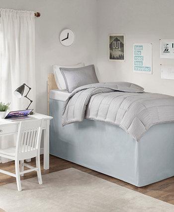 Общая юбка-кровать с удлиненным сиденьем Twin XL Drop 36 дюймов с интеллектуальным дизайном JLA Home