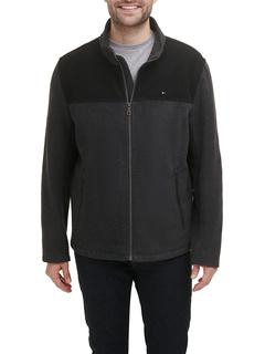 Классическая флисовая куртка на молнии спереди Tommy Hilfiger