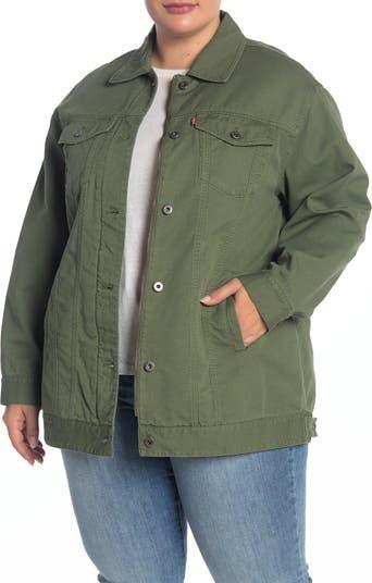 Spread Collar Button Down Jacket Levi's®