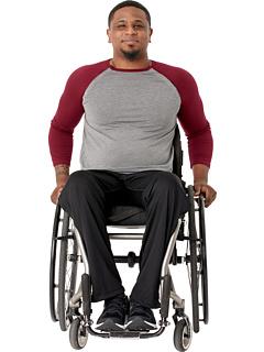 Адаптивная бейсбольная футболка с открытыми плечами Abilitee Adaptive Wear