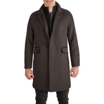 Novelty Wool Classic Topper Coat Cole Haan