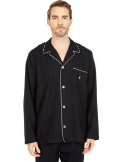Фланелевый пижамный топ Ralph Lauren