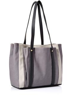 Женская сумочка на два плеча Bailey от Fossil, цвет: серый / черный Fossil