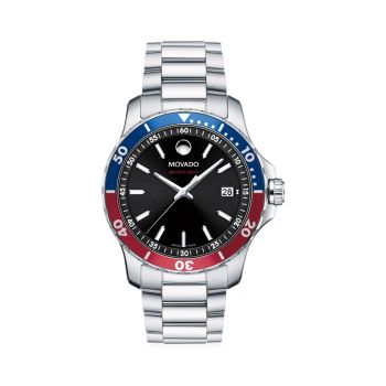 Часы Series 800 с браслетом из нержавеющей стали Movado