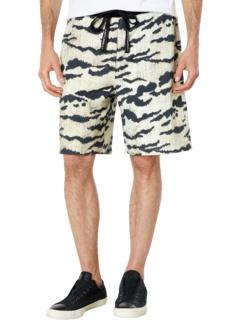 Triger Crack Print Shorts Just Cavalli