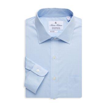 Классическая рубашка в клетку Regent-Fit Brooks Brothers