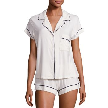 Короткая пижама из двух предметов Gisele Eberjey