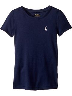 Вязаная футболка с короткими рукавами (для больших детей) Ralph Lauren