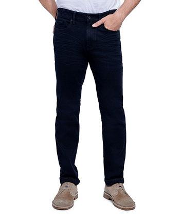 Джинсы Мужские зауженные спортивные джинсы Slim Fit Cut с 5 карманами Seven7
