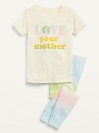 Пижамный комплект унисекс для малышей и малышей Old Navy