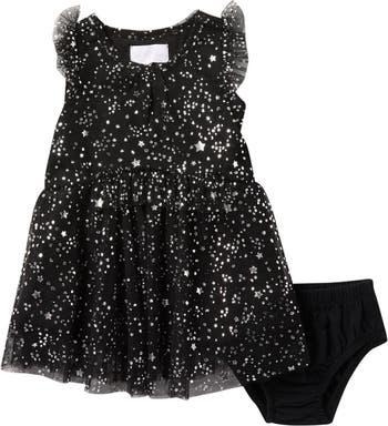 Сетчатое платье с принтом фольги BCBG Girls