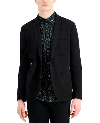 Men's Classic-Fit Solid Knit Blazer, Created for Macy's INC International Concepts