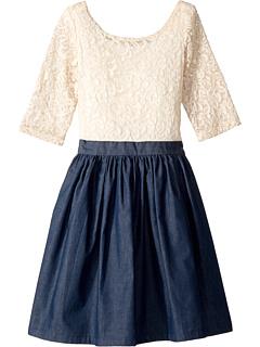Платье Katherine (для маленьких детей / детей старшего возраста) Fiveloaves twofish