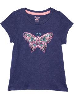 Восхитительная футболка с рисунком бабочки (для малышей / маленьких детей / старших детей) Hatley Kids