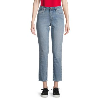 Прямые укороченные джинсы Rene с высокой посадкой Articles of Society