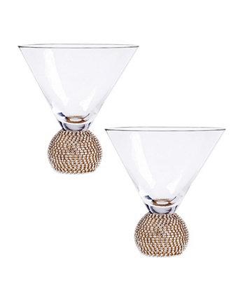 Посуда для бара Bling Martini, набор из 2 шт. Qualia Glass