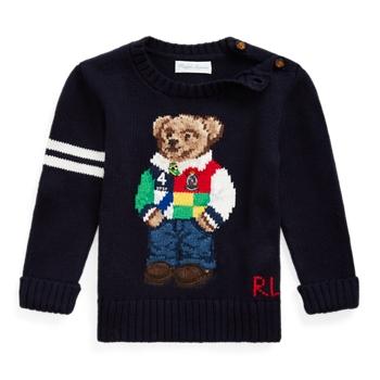 Polo Bear Cotton Sweater Ralph Lauren